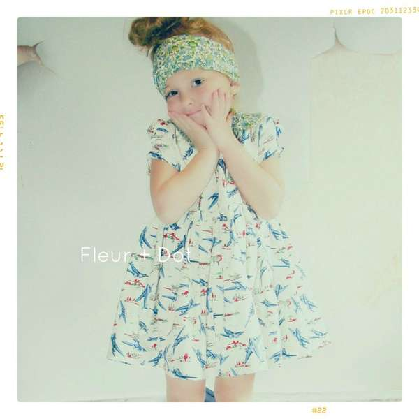 Vintage-Inspired Childrens Fashion