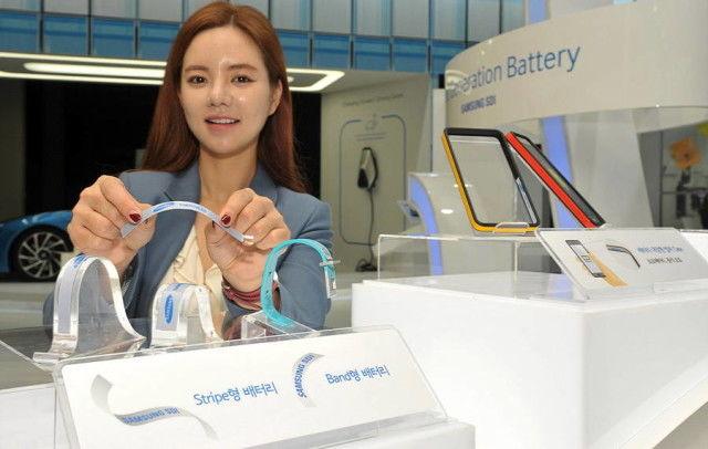 Contouring Flexible Batteries