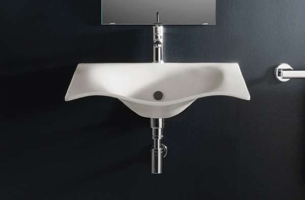 Droopy Bathroom Basins