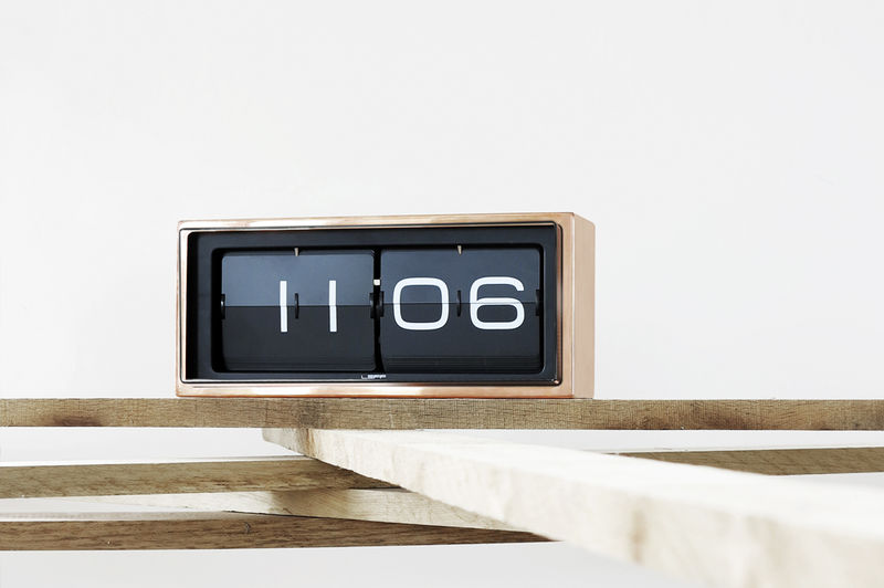 Retro Stainless Steel Clocks