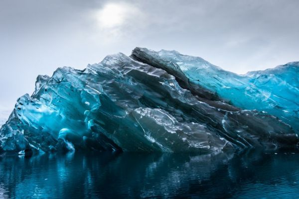 Flipped Iceberg Photography