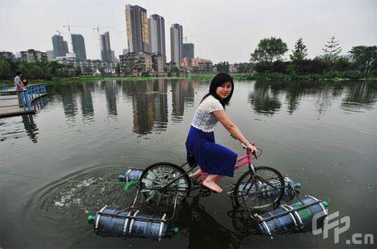 Floating Bicycles