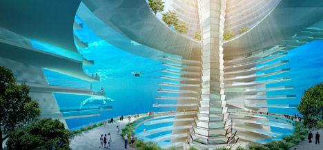 Floating Ocean Metropolises