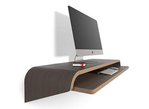 Wall-Mounted Floating Desks