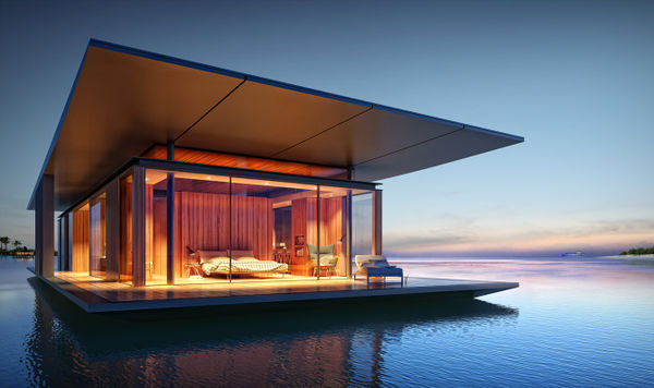 Cool Free Spirited Floating Homes Floating Houses Largest Home Design Picture Inspirations Pitcheantrous