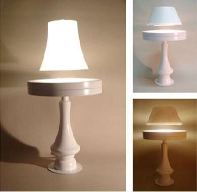 Floating Lamp Puts Levitation in New Light
