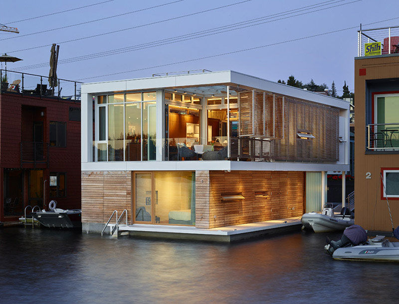 Floating Modern Homes Floating Modern Home