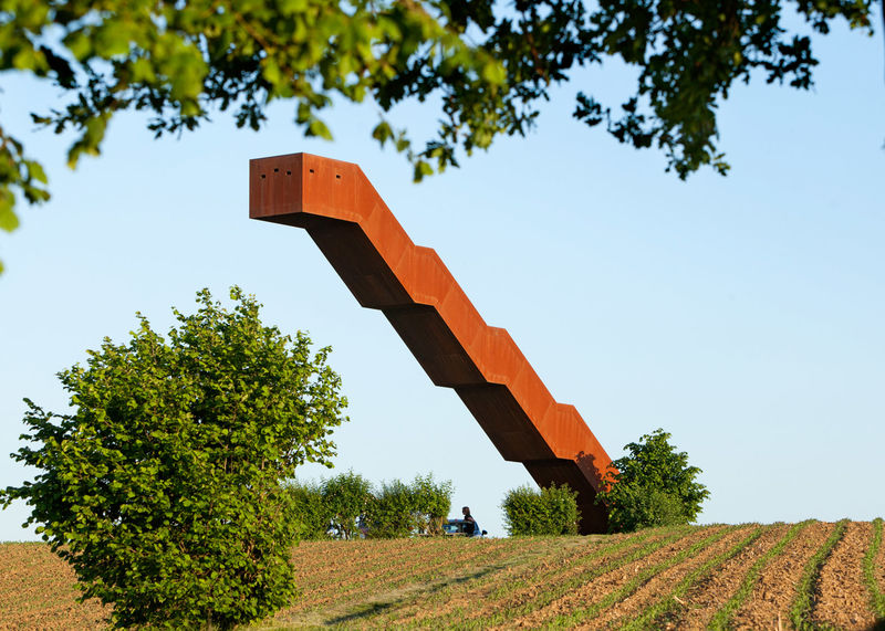 Gravity-Defying Staircases