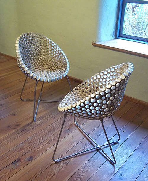Eco Friendly Perforated Furniture Flohr Design