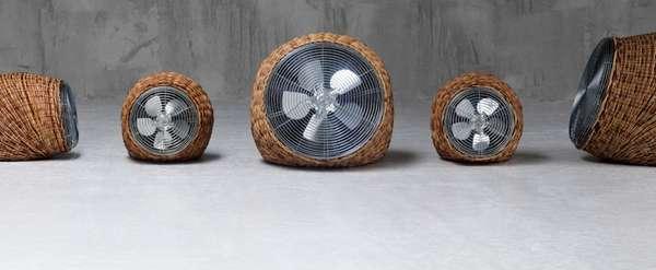 Woven Wicker Ventilators