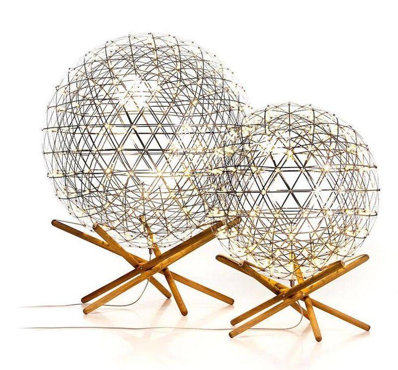 Spherical Steel Lamps