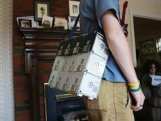 Floppy Disc Bag