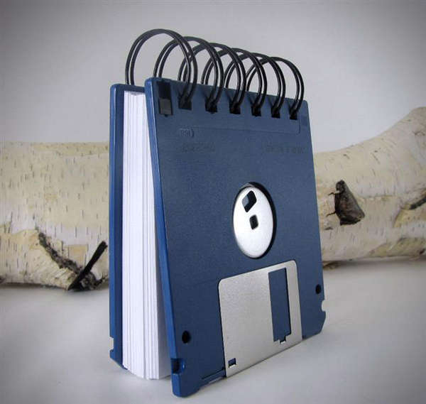 Retro Data Storage Journals