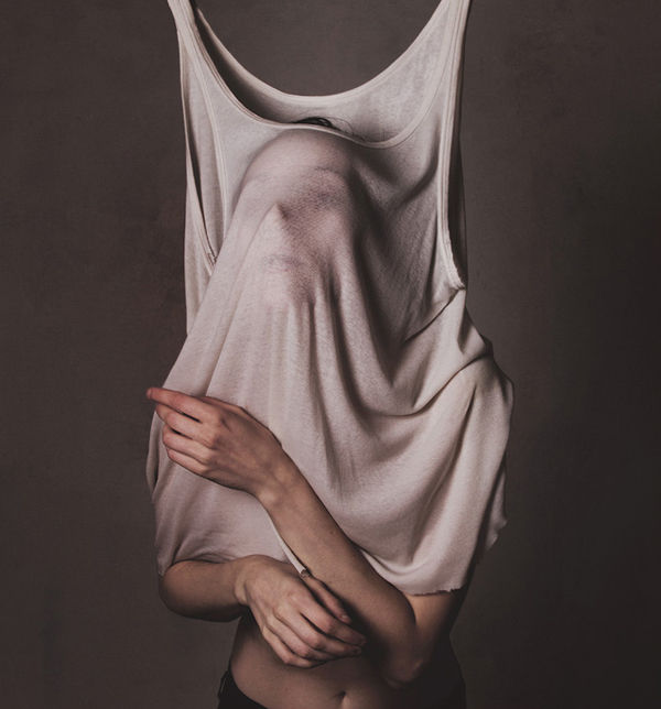 Bizarre Faceless Shirt Photography