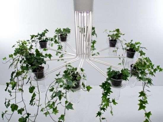 Flowerpot Chandeliers