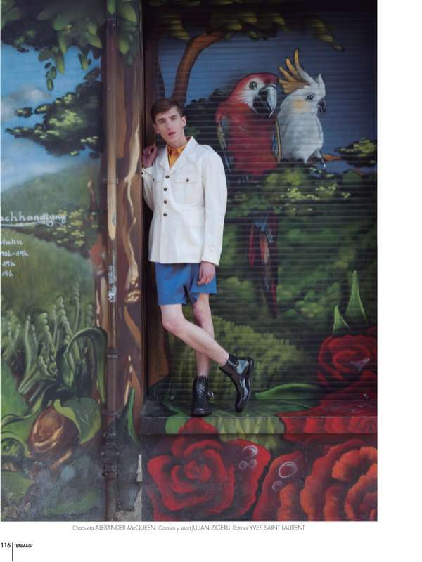Mural Menswear Editorials