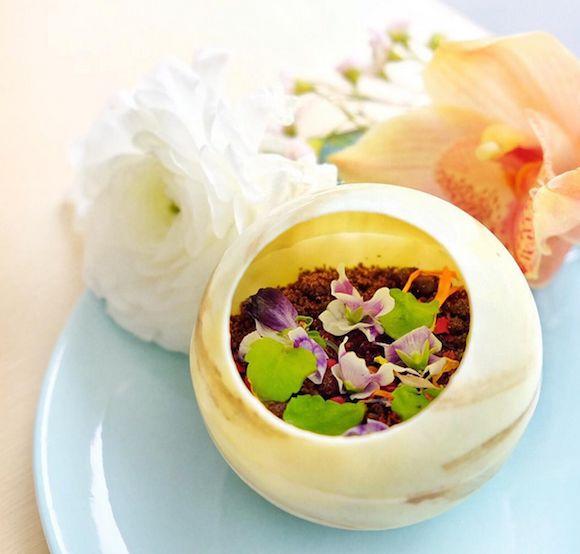 Floral Dessert Menus