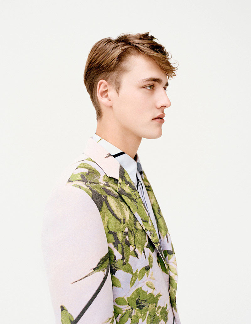 Botanical Menswear Ads