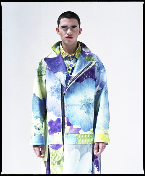 Masculine Floral Jackets