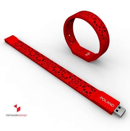 Hidden USB Bracelets