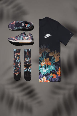 Floral Running Shoes