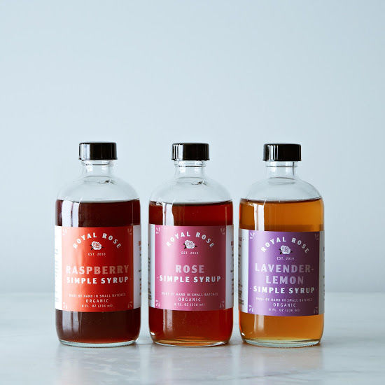 Fruity Floral Simple Syrups