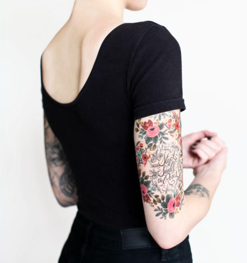 Botanical Temporary Tattoos
