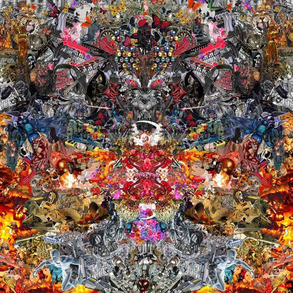 Detailed Digital Collages