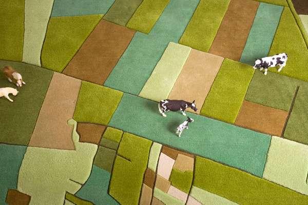 Rural Landscape Rugs