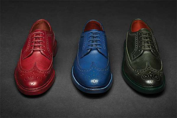 Multi-Colored Wingtips