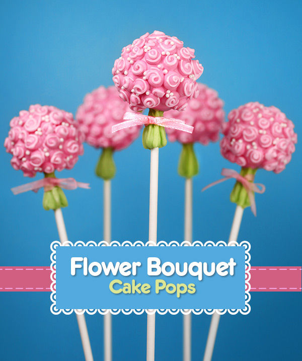 Mini Bouquet Cake Pops
