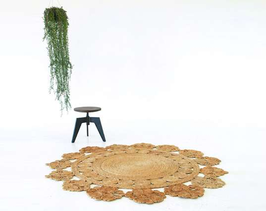 Floral Fair-Trade Floor Rugs