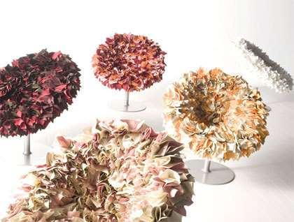 Flower-Inspired Furniture