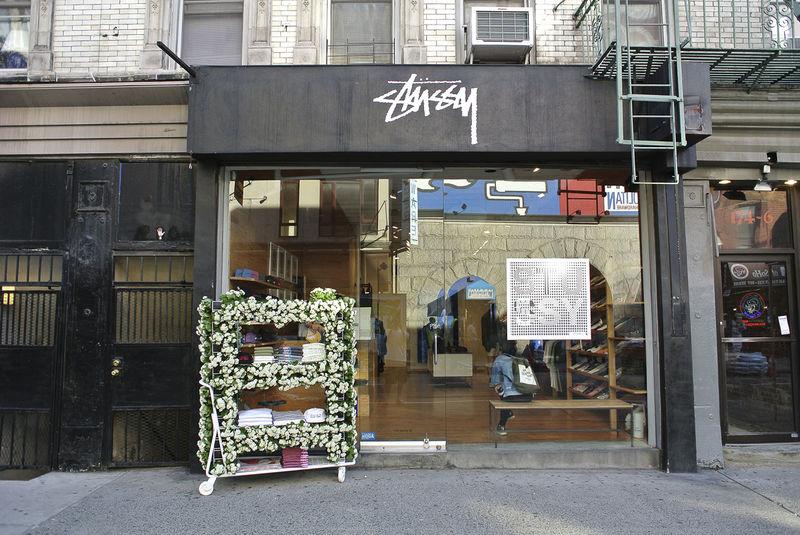 Flowery Streetwear Storefronts