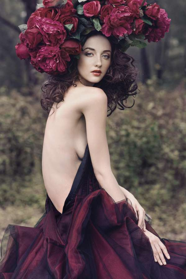 Flower Maiden Fashion Editorials