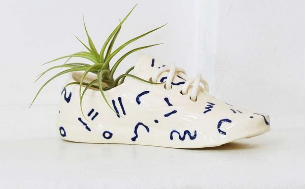 Charming Shoe Planters