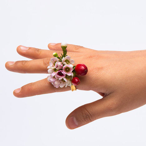 Hippie Flower Rings