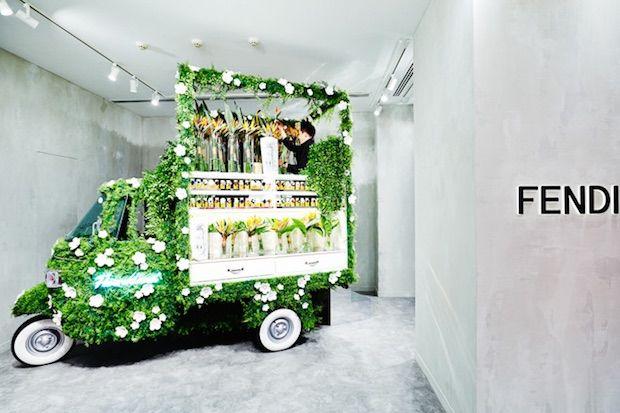 In-Store Flower Trucks