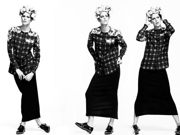 Feminine Grunge Photoshoots