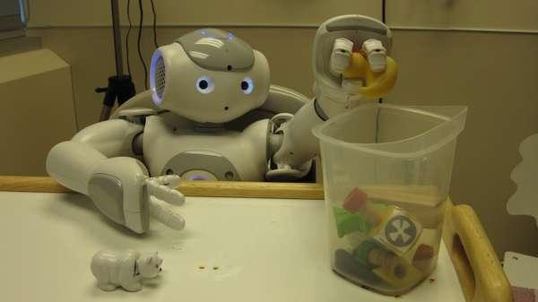 Kid-Calming Robots