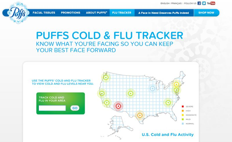 Parent-Aiding Flu Trackers
