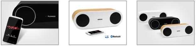 Sleek Audiophile Speakers