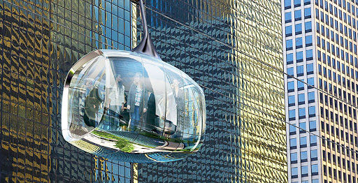 Eco Flying Cable Cars