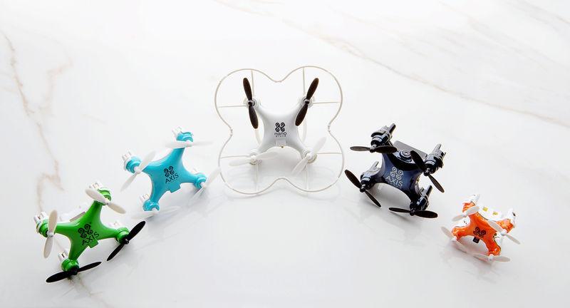 Minuscule POV Drones