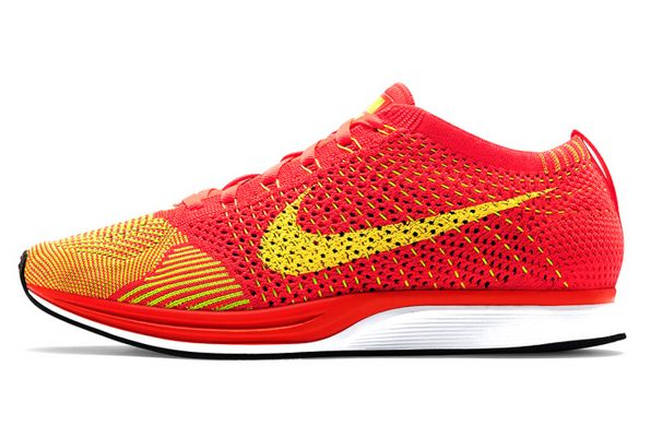 Vibrant Neon Running Shoes