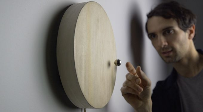 Floating Magnetic Timepieces
