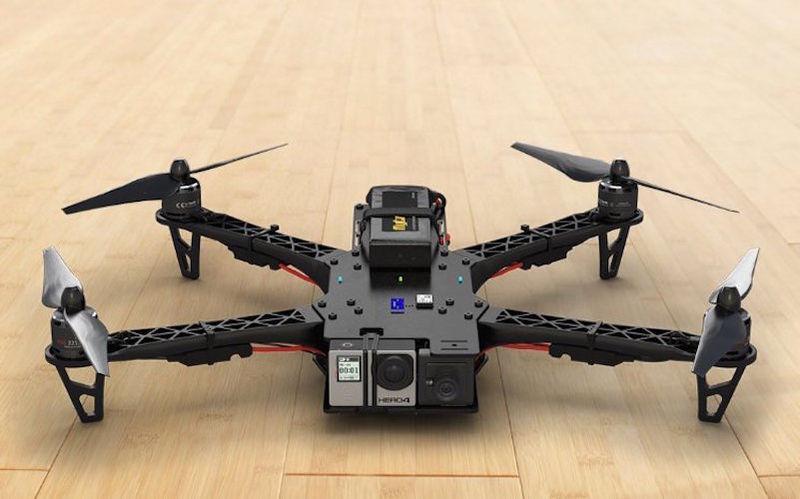 Cloud-Connected Drones