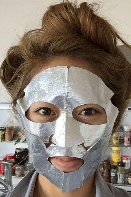 Skin-Restoring Foil Masks