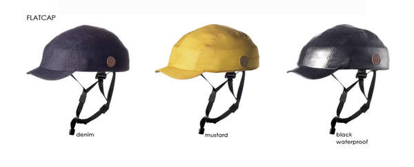 Compactly Foldable Bike Helmets