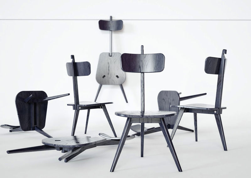 Collapsible Stool Seating